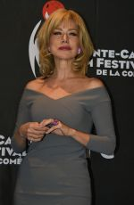 NANCY BRILLI at 15th Annual Montecarlo Film Festival Press Conference 02/26/2018