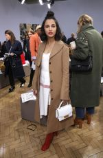 NAOMI SCOTT at JW Anderson Fashion Show at LFW in London 02/17/2018