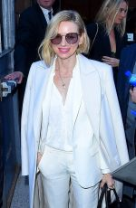 NAOMI WATTS Arrives at Zadig & Voltaire Fashio Show in New York 02/12/2018