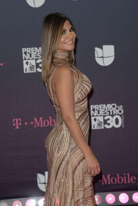 NATALIA CRUZ at Premio Lo Nuestro Awards 2018 in Miami 02/22/2018