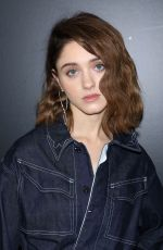 NATALIA DYER at Zadig & Voltaire Show at New York Fashion Week 02/12/2018