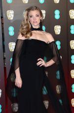 NATALIE DORMER at BAFTA Film Awards 2018 in London 02/18/2018