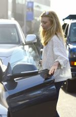 NATALIE DORMER Out for Lunch in Los Angeles 02/01/2018