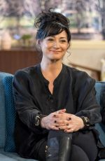 NATALIE J ROBB at This Morning Show in London 02/01/2018