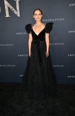 NATALIE PORTMAN at Annihilation Premiere in Los Angeles 02/13/2018
