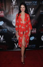 NATASHA BLASICK at Living Among Us Premiere in Los Angeles 02/01/2018