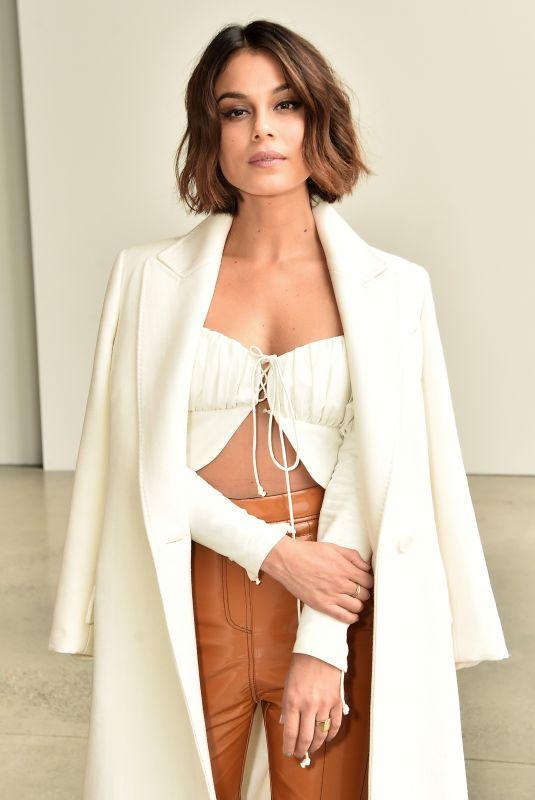 NATHALIE KELLEY at Dion Lee Fashion Show at New York Fashion Week 02/09/2018