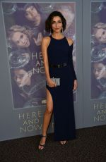 NECAR ZADEGAN at Here and Now Premiere in Los Angeles 02/05/2018