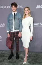 NICOLA PELTZ and Anwar Hadid at Amfar Gala 2018 in New York 02/07/2018