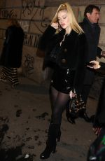 NICOLA PELTZ at Anna Dello Russo Party in Milan 02/24/2018