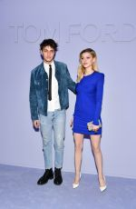 NICOLA PELTZ at Tom Ford Fashion Show in New York 02/07/2018