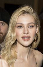NICOLA PELTZ at Versace Fall/Winter 2018 Fashion Show in Milan 02/223/2018