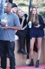 NICOLA PELTZ Chacha x Foxx Charity Celebrity Basketball in Thousand Oaks 02/17/2018