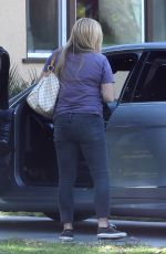 NICOLE EGGERT Out and About in Los Angeles 02/01/2018