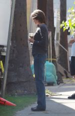 NICOLE KIDMAN on the Set of Destroyer in Los Angeles 02/03/2018