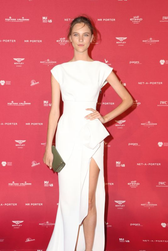 NICOLE POLLARD at Inaugural Museum of Applied Arts and Sciences Centre for Fashion Ball in Sydney 02/01/2018