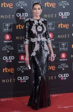 NIEVES ALVAREZ at 32nd Goya Awards in Madrid 02/03/2018