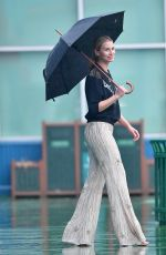 NIKI TAYLOR on the Set of a Photoshoot in New York 02/10/2018