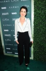 NIKKI REED at CFDA, Variety and WWD Runway to Red Carpet Luncheon in Los Angeles 02/20/2018