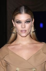 NINA AGDAL at Stuart Weitzman Fall/Winter 2018 Fashion Show in New York 02/08/2018