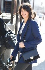 NINA DOBREV Arrives at Create & Cultivate Conference in Los Angeles 02/24/2018