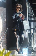 NINA DOBREV Leaves at Gym in Los Angeles 02/26/2018