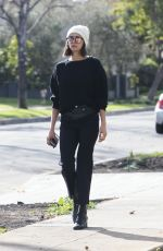 NINA DOBREV Out and About in Los Angeles 02/13/2018