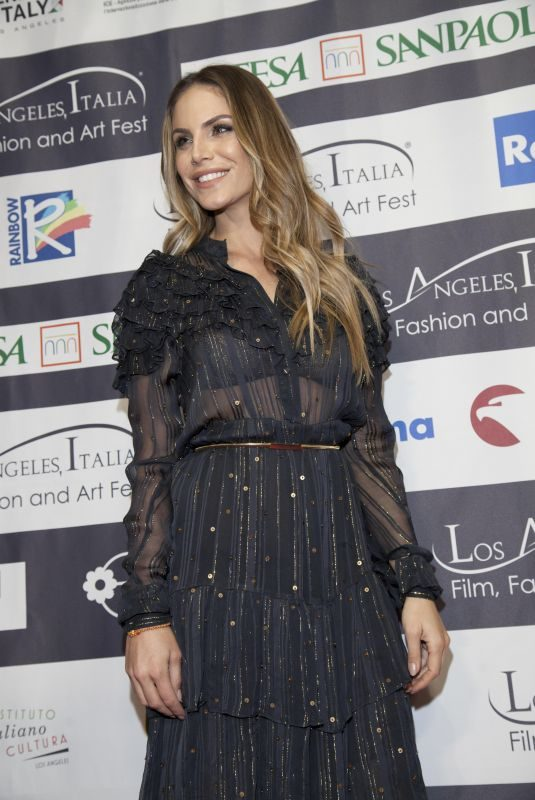 NINA SENICAR at Los Angeles Italia Film, Fashion and Art Festival 02/25/2018