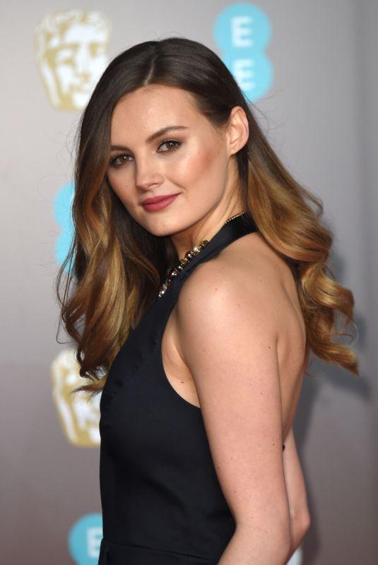 NIOMI SMART at BAFTA Film Awards 2018 in London 02/18/2018