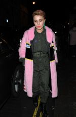 NOOMI RAPACE Arrives at Love and Miu Miu Women's Tales Party in London 02/19/2018