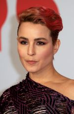 NOOMI RAPACE at Brit Awards 2018 in London 02/21/2018