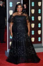 OCTAVIA SPENCER at BAFTA Film Awards 2018 in London 02/18/2018