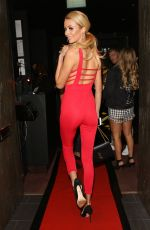 OLIVIA ATTWOOD Arrives at Valentine's Party at Libertine Nightclub in London 02/08/2018