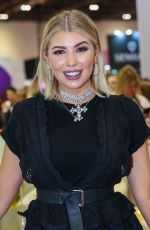 OLIVIA BUCKLAND at Professional Beauty Exhibition in London 02/25/2018