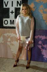 OLIVIA COX at Vin + Omi Show at London Fashion Week 02/15/2018