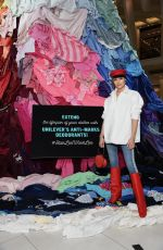 OLIVIA CULPO at NYC to Bring Awareness to Clothing Waste in New York 02/07/2018