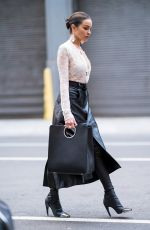 OLIVIA CULPO Out and About in New York 02/08/2018
