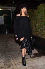 OLIVIA CULPO Out at New York Fashion Week 02/13/2018