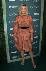 OLIVIA HOLT at CFDA, Variety and WWD Runway to Red Carpet Luncheon in Los Angeles 02/20/2018