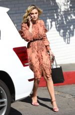 OLIVIA HOLT Leaves CFDA Luncheon at Chateau Marmont in Los Angeles 02/20/2018