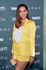 OLIVIA MUNN at CFDA, Variety and WWD Runway to Red Carpet Luncheon in Los Angeles 02/20/2018
