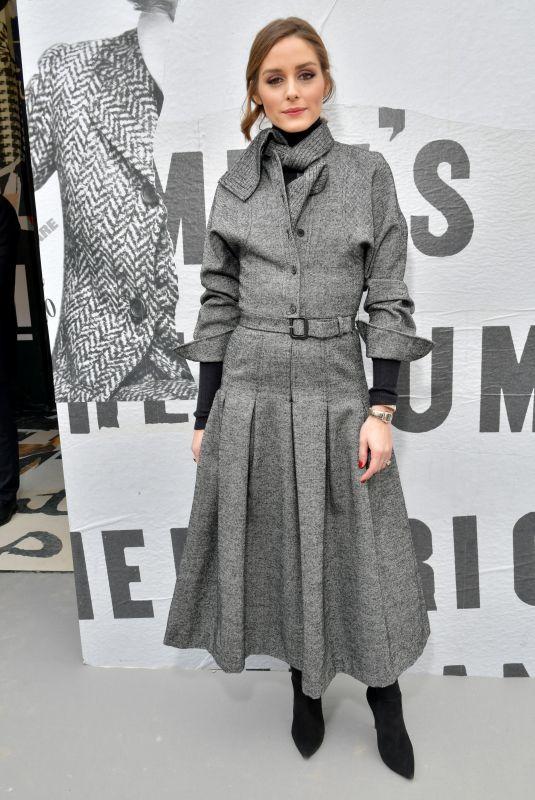 OLIVIA PALERMO at Christian Dior Show at Paris Fashion Week 02/27/2018
