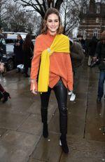 OLIVIA PALERMO at Christopher Kane Show at London Fashion Week 02/19/2018