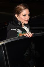 OLIVIA PALERMO at Moncler Genius Project at Milan Fashion Week 02/20/2018
