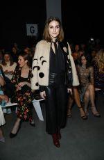 OLIVIA PALERMO at Naeem Khan Fashion Show in New York 02/13/2018