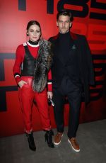 OLIVIA PALERMO at Tommy Hilfiger Fashion Show in Milan 02/25/2018
