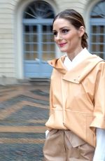 OLIVIA PALERMO Out at Milan Fashion Week 02/23/2018