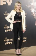OLIVIA TAYLOR DUDLEY at The Magicians Photocall in Madrid 02/07/2018
