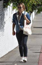 OLIVIA WILDE Arrives at Chateau Marmont in West Hollywood 02/08/2018