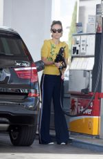 OLIVIA WILDE at a Gas Station in Los Angeles 02/12/2018